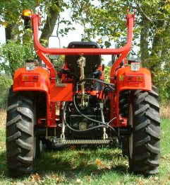 4WD tractor